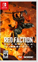 Red Faction Guerilla Box Art