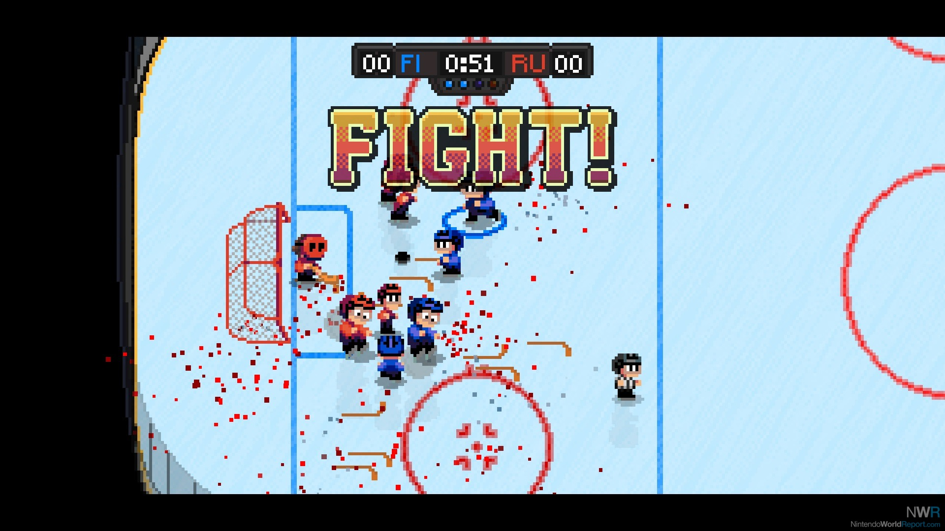 Super Blood Hockey Review Review Nintendo World Report