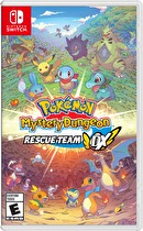 Pokémon Mystery Dungeon Rescue Team DX Box Art