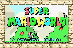 super mario world for gameboy