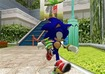 Sonic admires the detailed textures