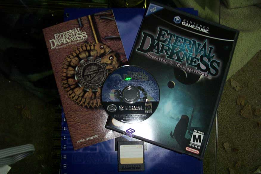 Eternal Darkness and Memory Card 251 in house! - News - Nintendo ...
