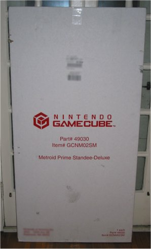 Nov 15 Trivia Prize: Deluxe Metroid Prime Standee