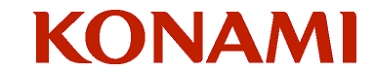 Konami's new logo
