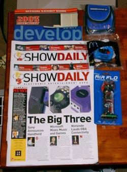 E3 Swag Trivia Prize Pack