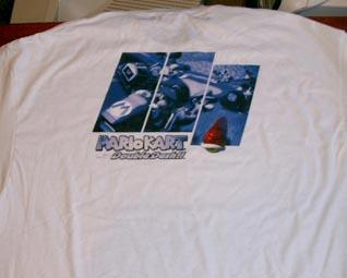 Trivia Prize Mario Kart Shirt