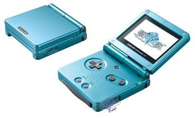 Blue Mana GBA SP