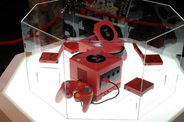 Bandai's Char GameCube and GBA SP