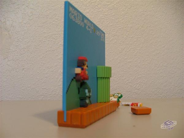 LS Prize: Mario and Goomba Scene (Angled)