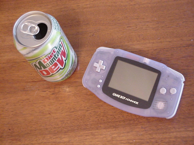 GBA and Dew! A perfect combination!