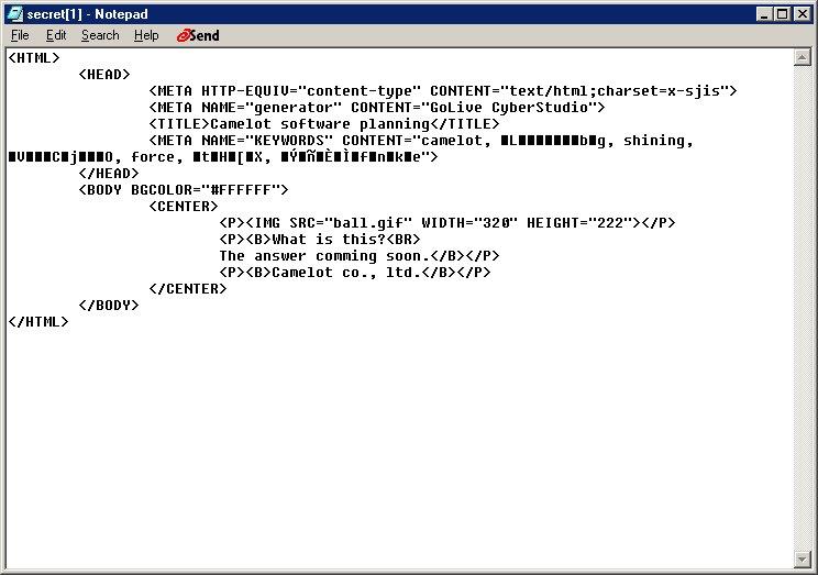 Source code!