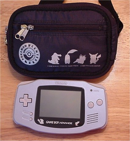 Pokemon Center Special Edition GBA and Case