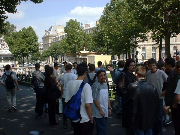 GBA Launch in Paris - Look at that Line!