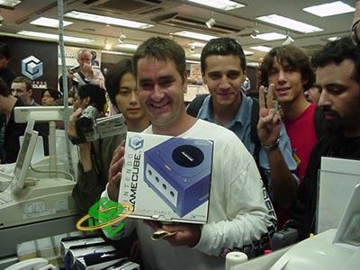 Billy avec la GameCube