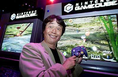 -c- Planet GameCube, Shigeru Miyamoto