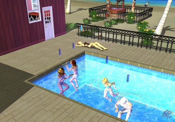 Sims bustin out naked cheat