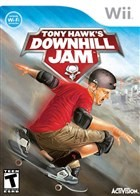 Tony Hawk's Downhill Jam Box Art