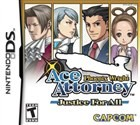 Phoenix Wright: Ace Attorney Justice for All Box Art