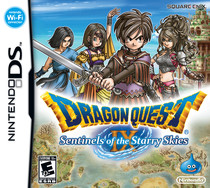 Dragon Quest IX: Sentinels of the Starry Skies Box Art