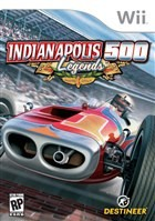 Indianapolis 500 Legends Box Art