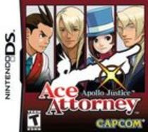 Apollo Justice: Ace Attorney Box Art