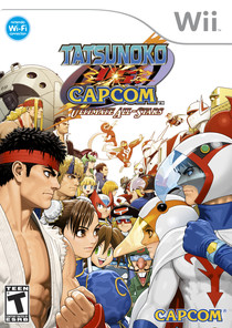 Tatsunoko vs. Capcom: Ultimate All Stars Box Art