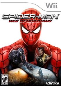 Spider-Man: Web of Shadows Box Art