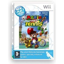 New Play Control! Mario Power Tennis Box Art