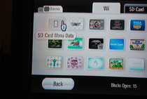 Game Developers Conference 2009: Wii SD Card Menu - Mouseover