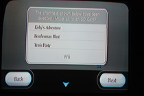 Game Developers Conference 2009: Wii SD Card Menu - Selecting by Rightmost