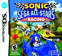 Sonic & Sega All Stars Racing Box Art