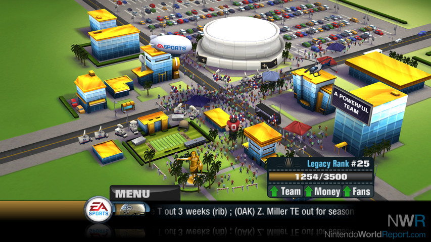 Madden NFL 11's New Franchise - Feature - Nintendo World Report