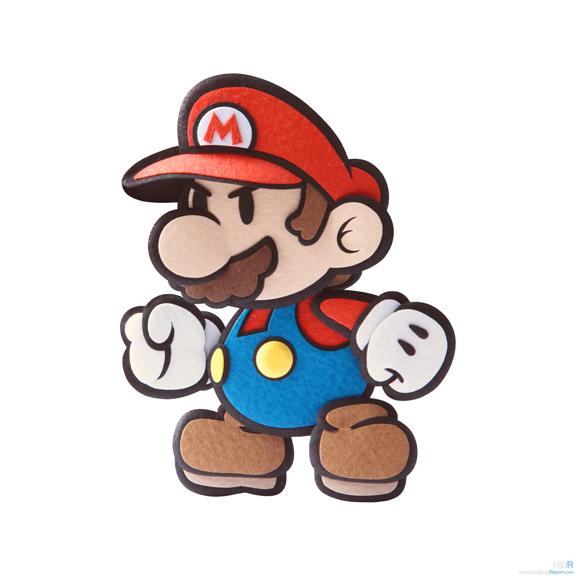 Mario paper star : Kids indoor soccer