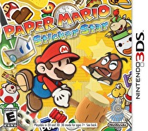 Paper Mario: Sticker Star Box Art