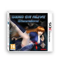 Dead or Alive Dimensions Box Art