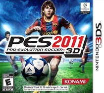 Pro Evolution Soccer 2011 3D Box Art