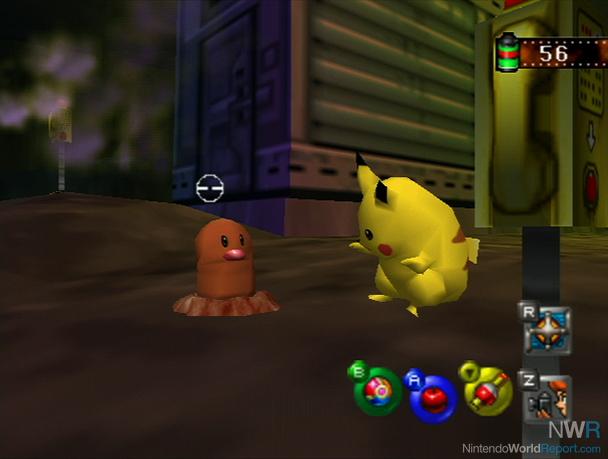 Pikachu and Diglett just straight trippin'