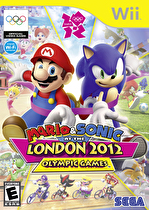 Mario & Sonic at London Olympics Box Art