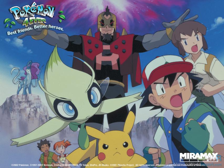 Pokemon 4ever Celebi Voice Of The Forest Feature Nintendo