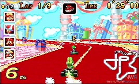 Mario Kart Super Circuit Extra Life Nintendo World Report