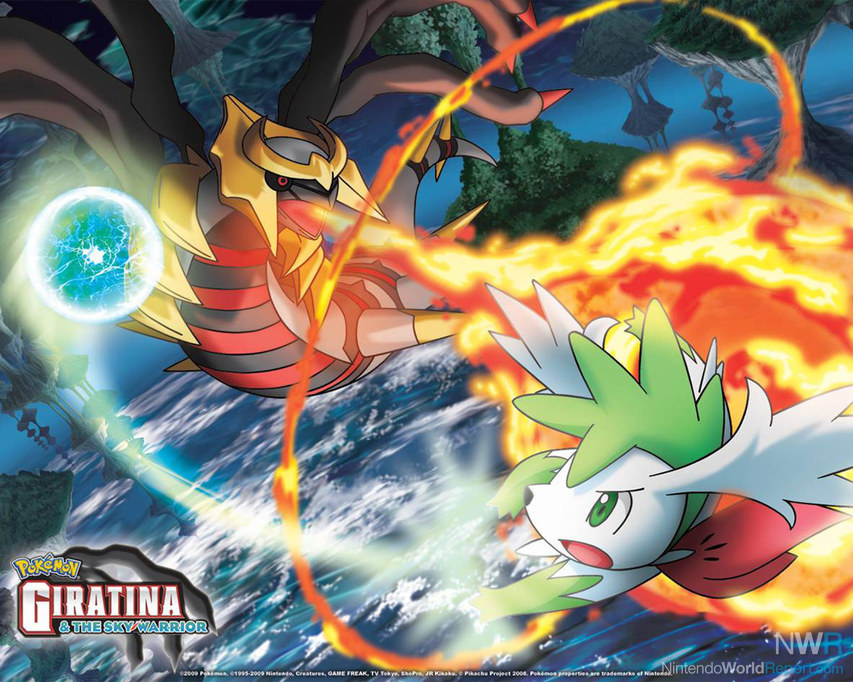 Pokemon Giratina And The Sky Warrior Feature Nintendo World
