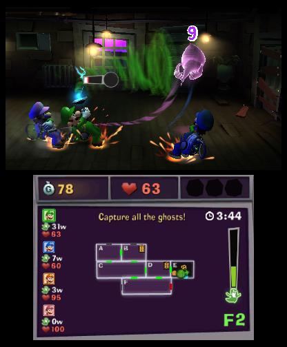Luigi S Mansion Dark Moon Review Review Nintendo World
