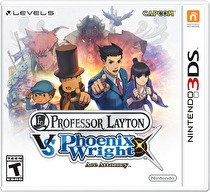 Layton Kyouju vs. Gyakuten Saiban Box Art