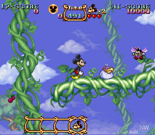 The Magical Quest Starring Mickey Mouse - Extra Life