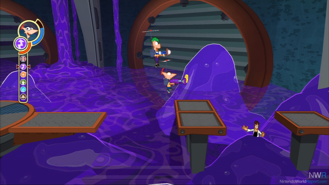 Phineas and Ferb: Across the Second Dimension on PS3 ...