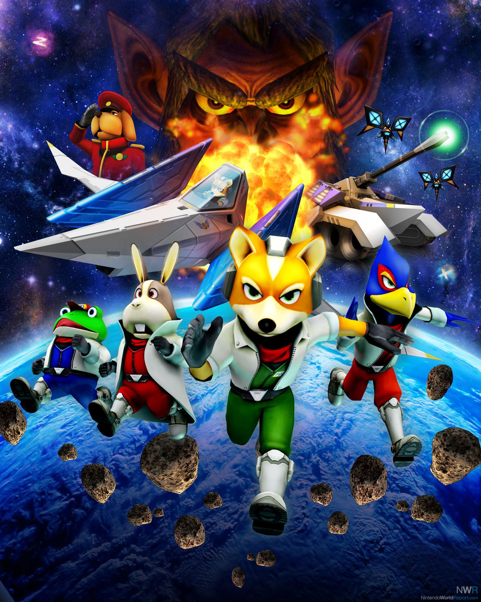 star fox 64 3d ending relationship