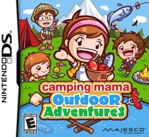 Camping Mama: Outdoor Adventures Box Art