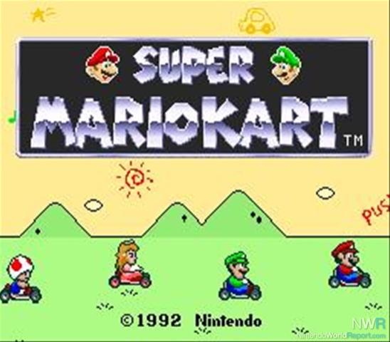 Super Mario Kart Feature Nintendo World Report