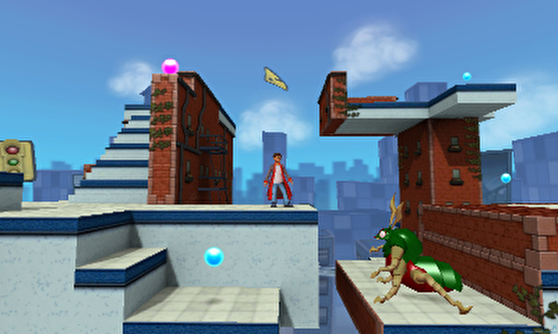 Crush 3D Out Tomorrow in North America - News - Nintendo