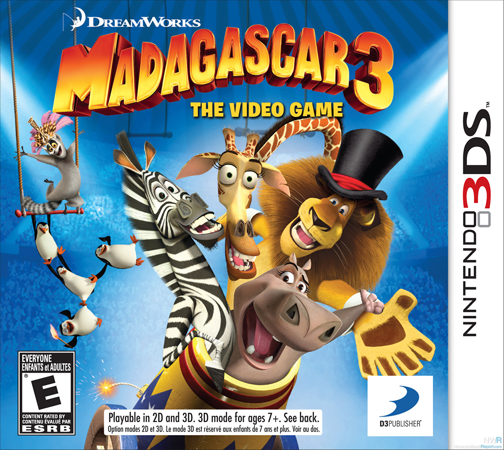 Madagascar 3 The Video Game Review Review Nintendo World Report